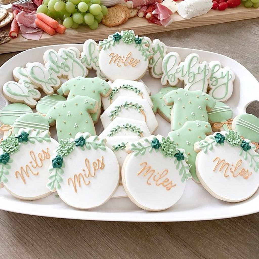 Lovely Spring Baby Shower Themes Decor Ideas 29
