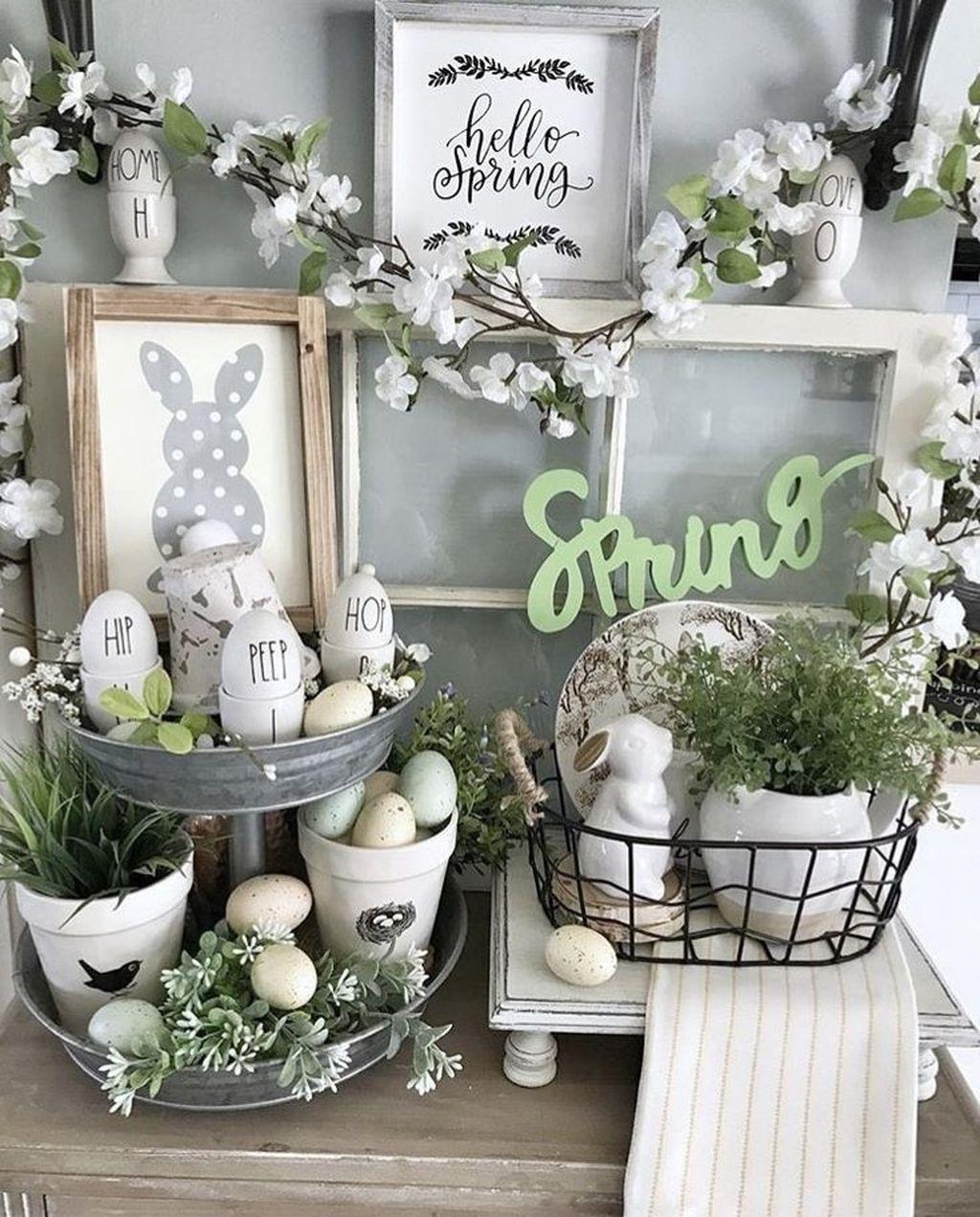 Perfect Farmhouse Spring Decor Ideas 05