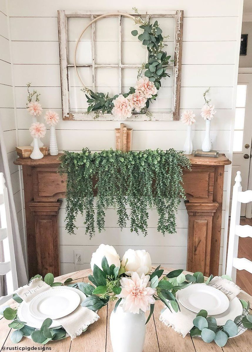 Perfect Farmhouse Spring Decor Ideas 19