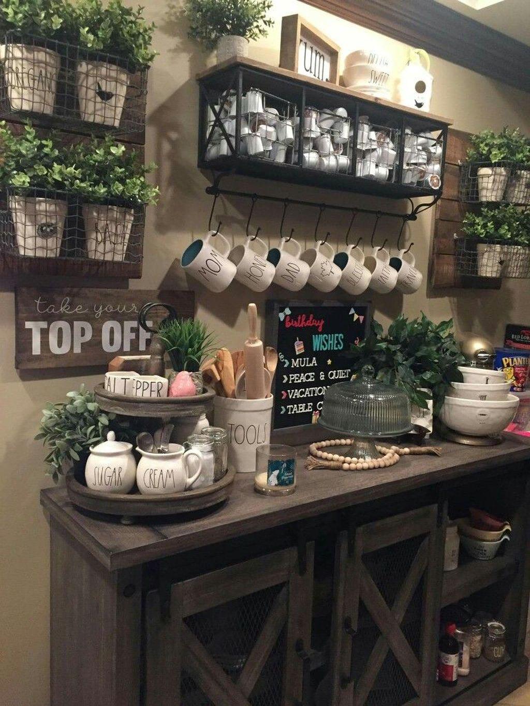 Popular Coffee Bar Ideas For Your Interior Design 09