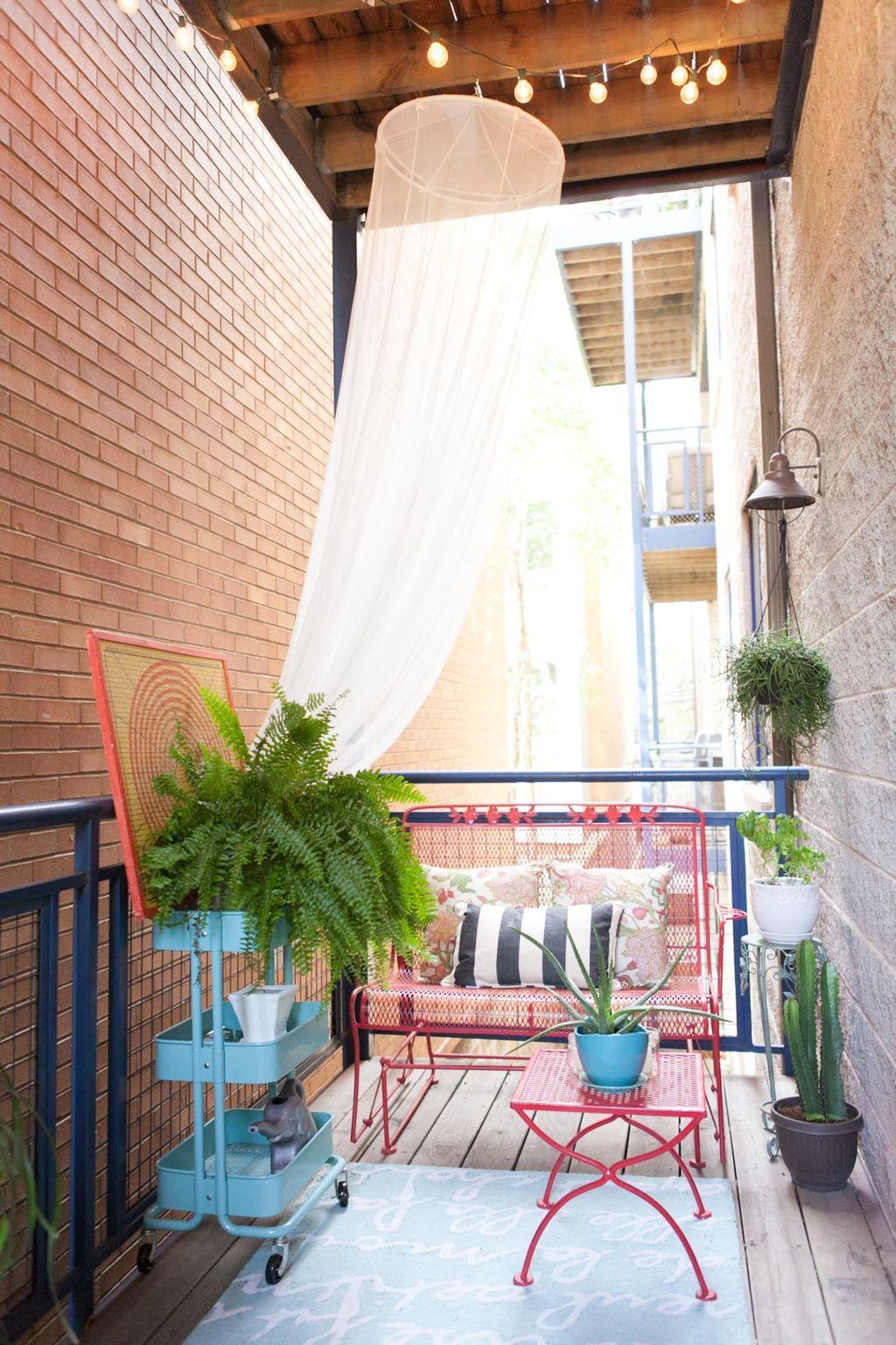 The Best Apartment Balcony Design Ideas 04