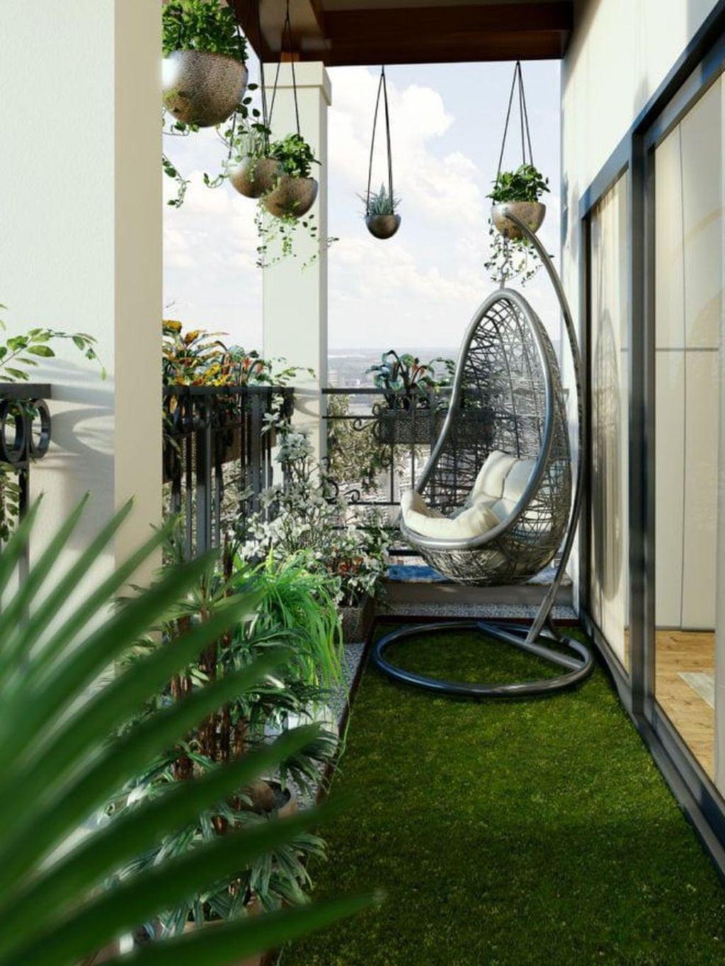 33 The Best Apartment Balcony Design Ideas - MAGZHOUSE