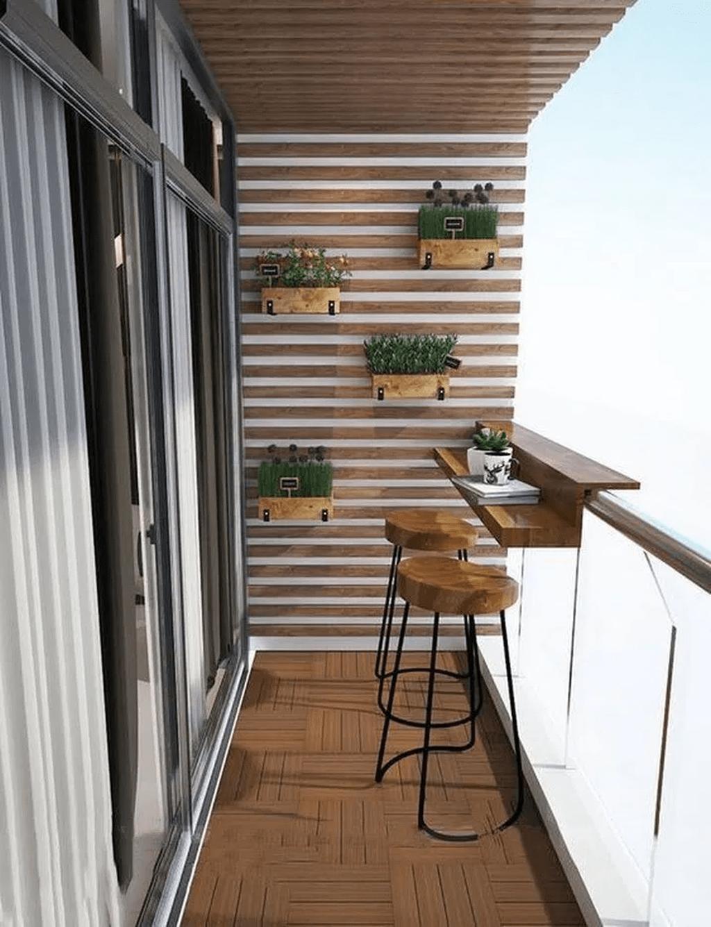 The Best Apartment Balcony Design Ideas 14