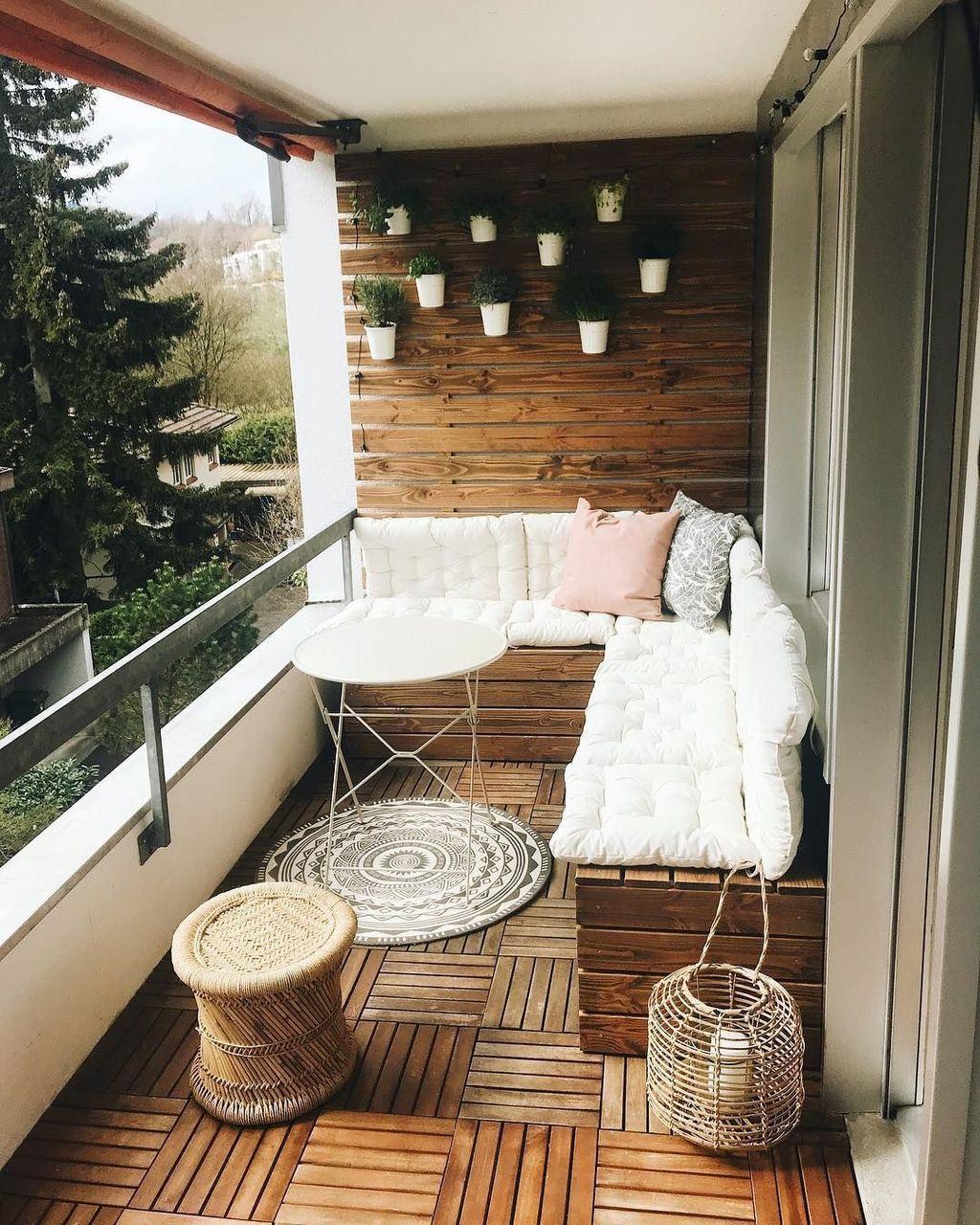 The Best Apartment Balcony Design Ideas 29