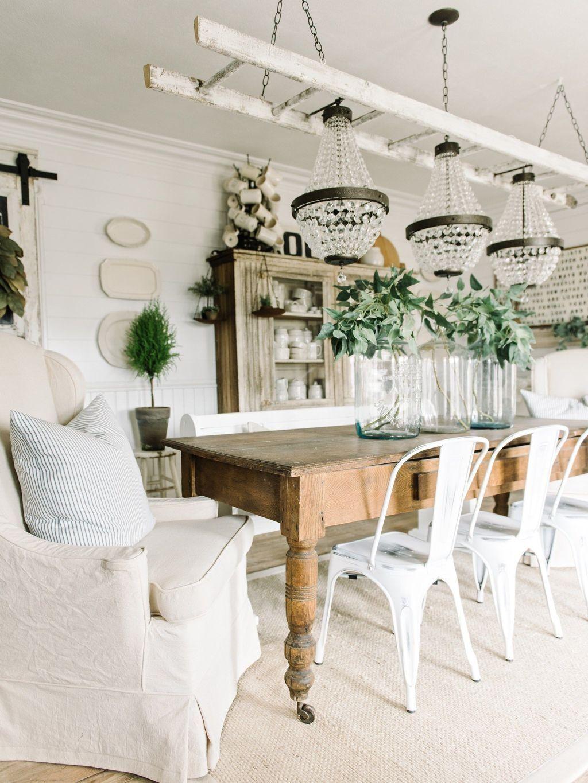 Wonderfull Spring Dining Room Decor Ideas 18