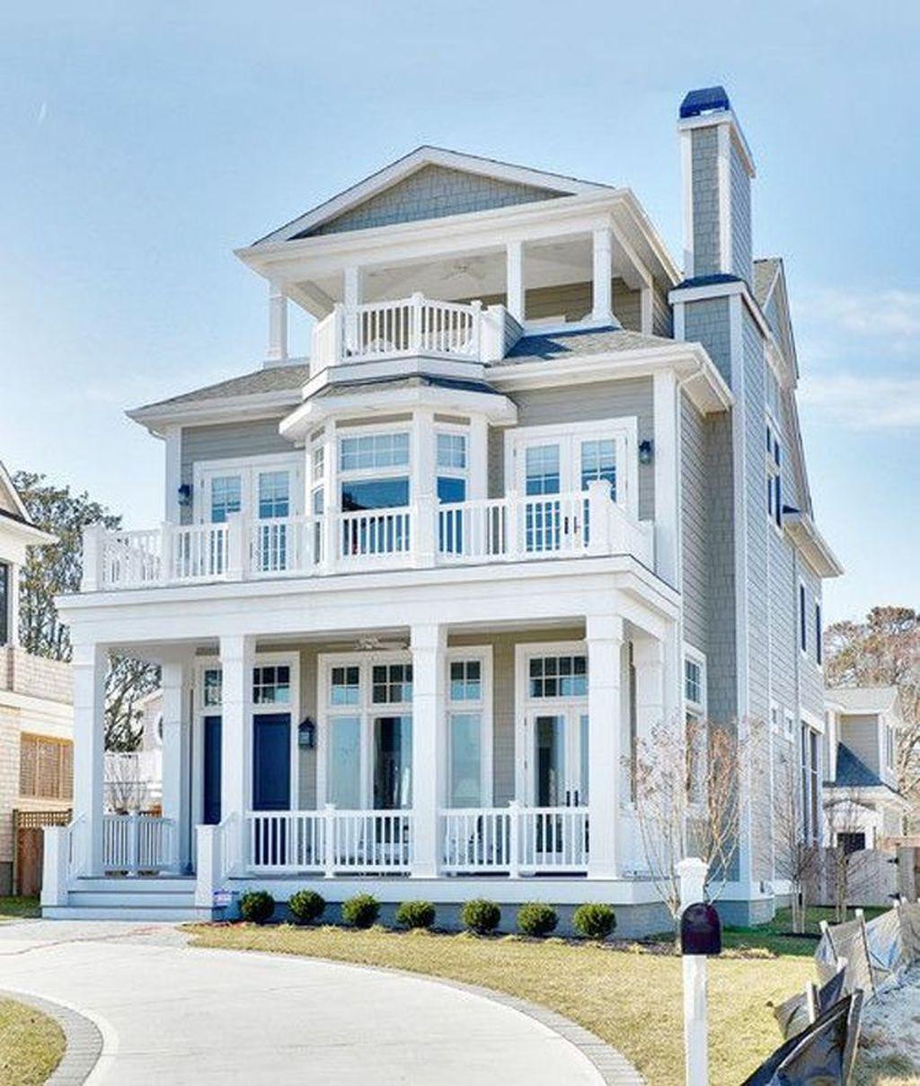 Admirable Beach House Exterior Design Ideas You Will Love 27