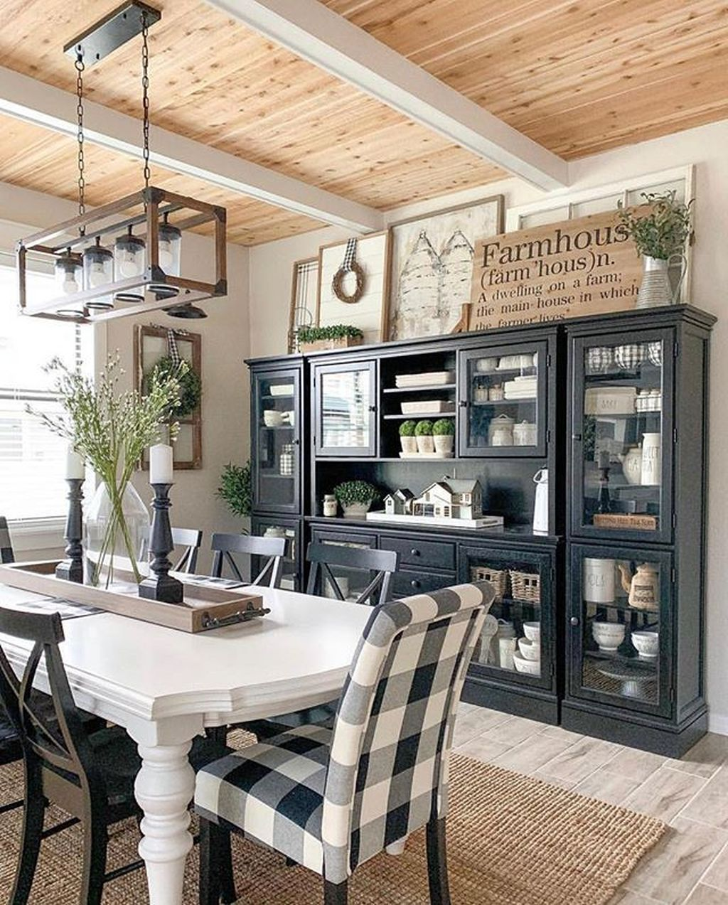 Amazing Farmhouse Dining Room Decor Ideas 20