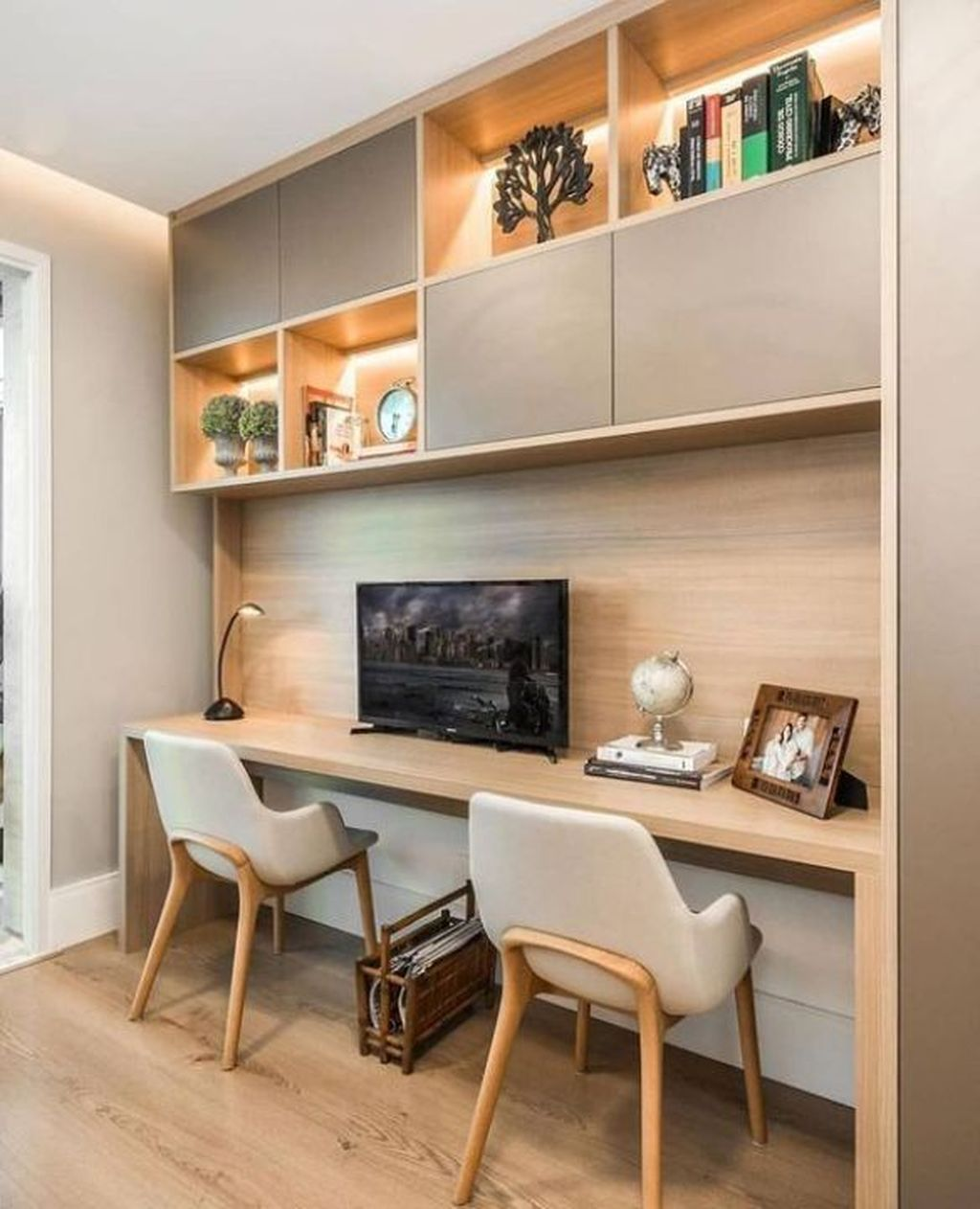 Awesome Scandinavian Home Office Design Ideas You Should Copy 06