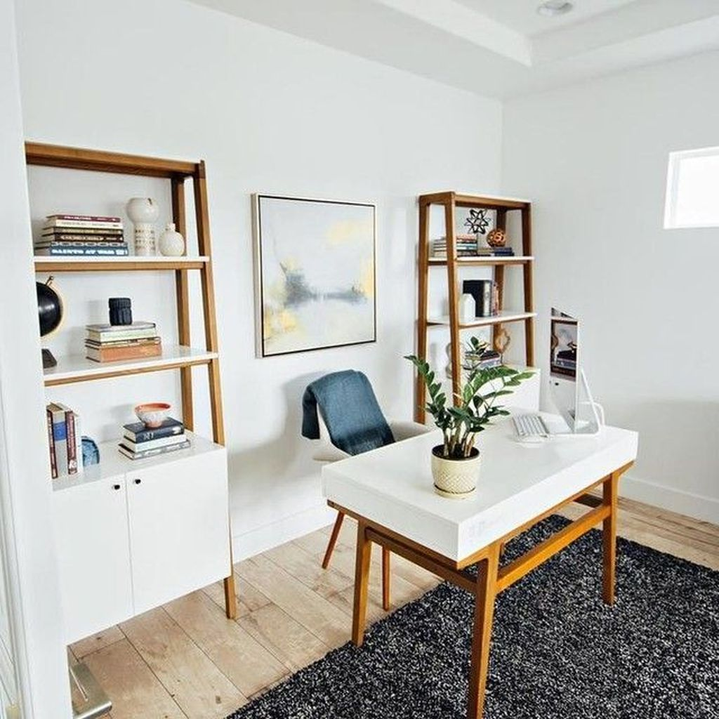 Awesome Scandinavian Home Office Design Ideas You Should Copy 11