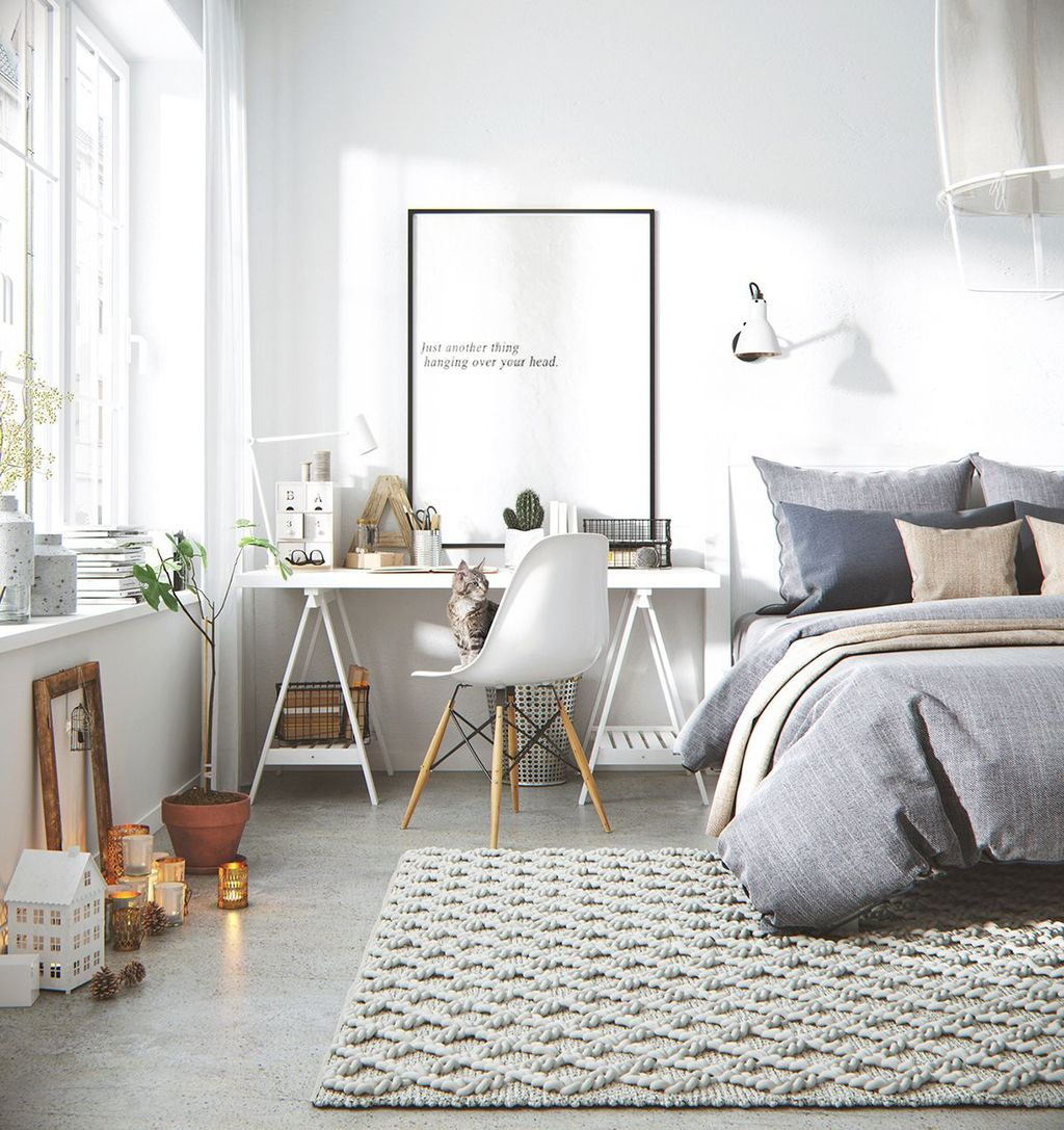 Awesome Scandinavian Home Office Design Ideas You Should Copy 26