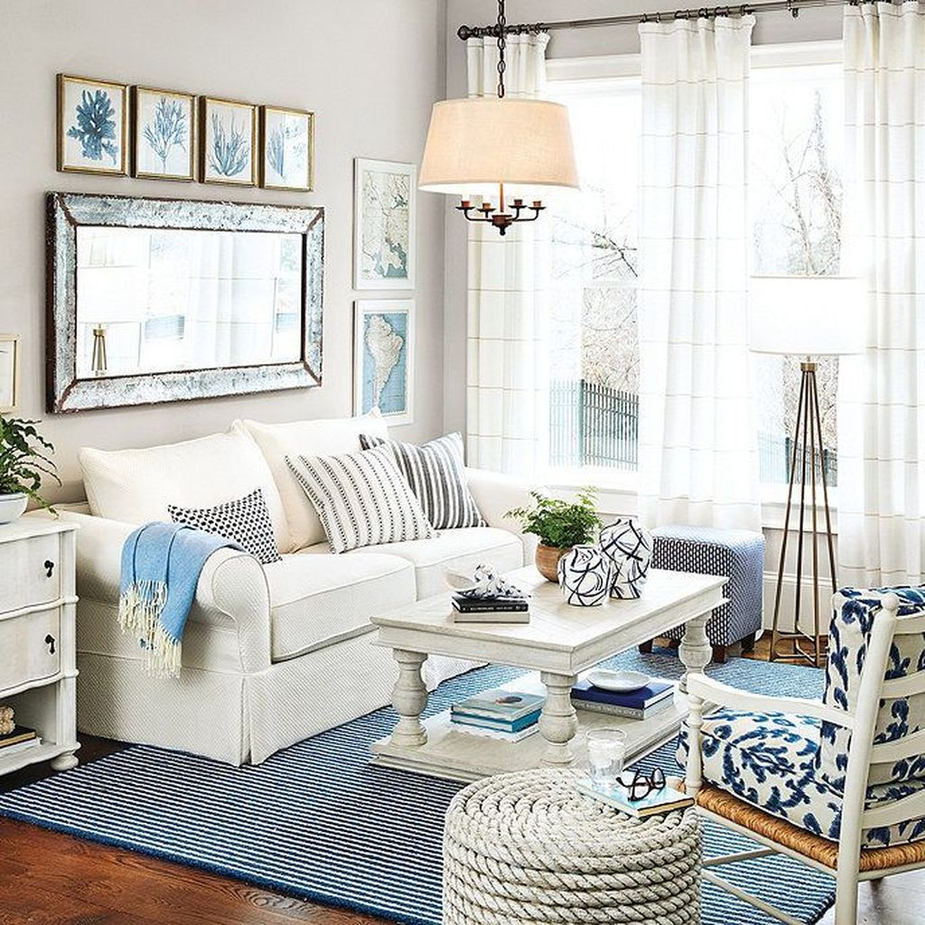 Beautiful Coastal Living Room Decor Ideas Best For This Summer 26