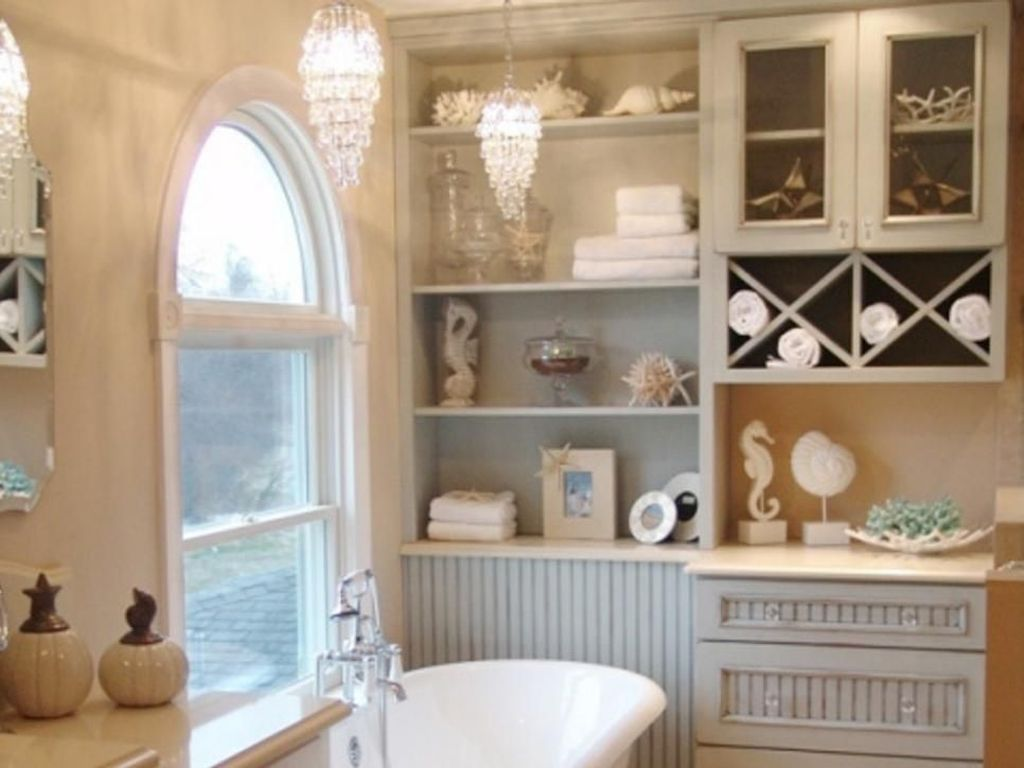 Fabulous Coastal Style Bathroom Decor Ideas 26