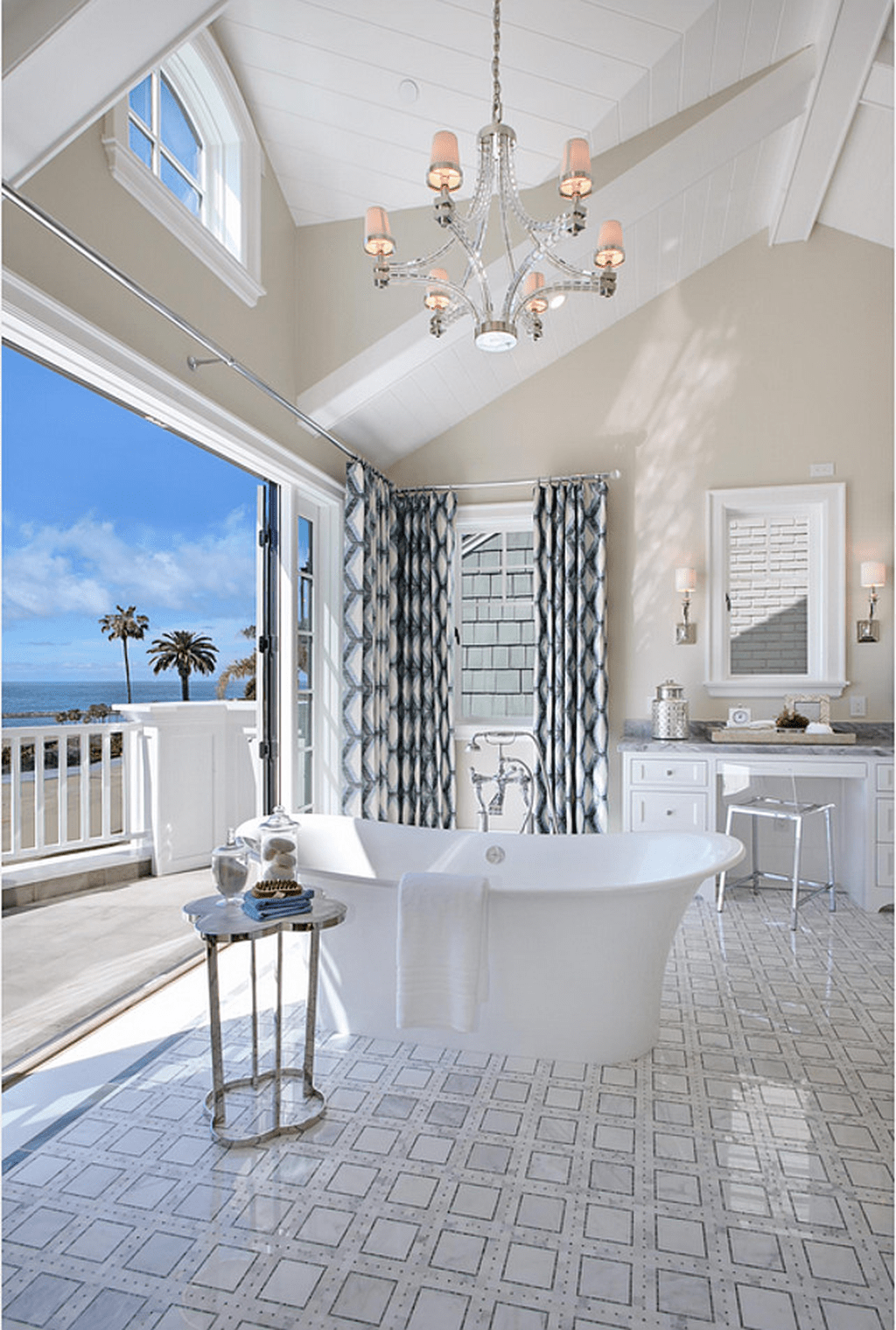 Fabulous Coastal Style Bathroom Decor Ideas 28
