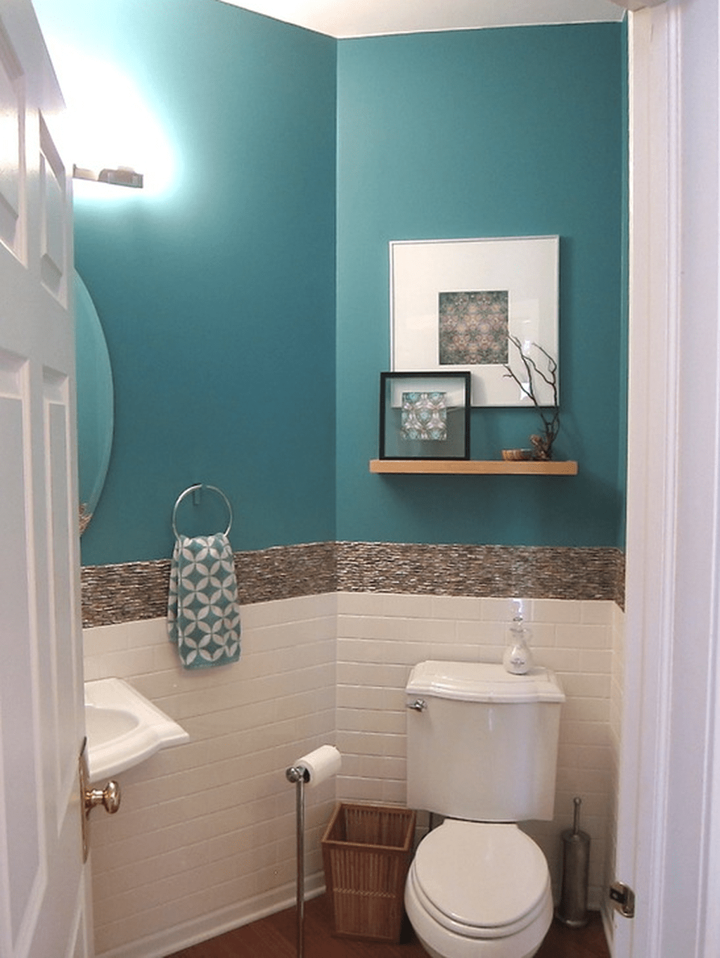 Fabulous Coastal Style Bathroom Decor Ideas 30