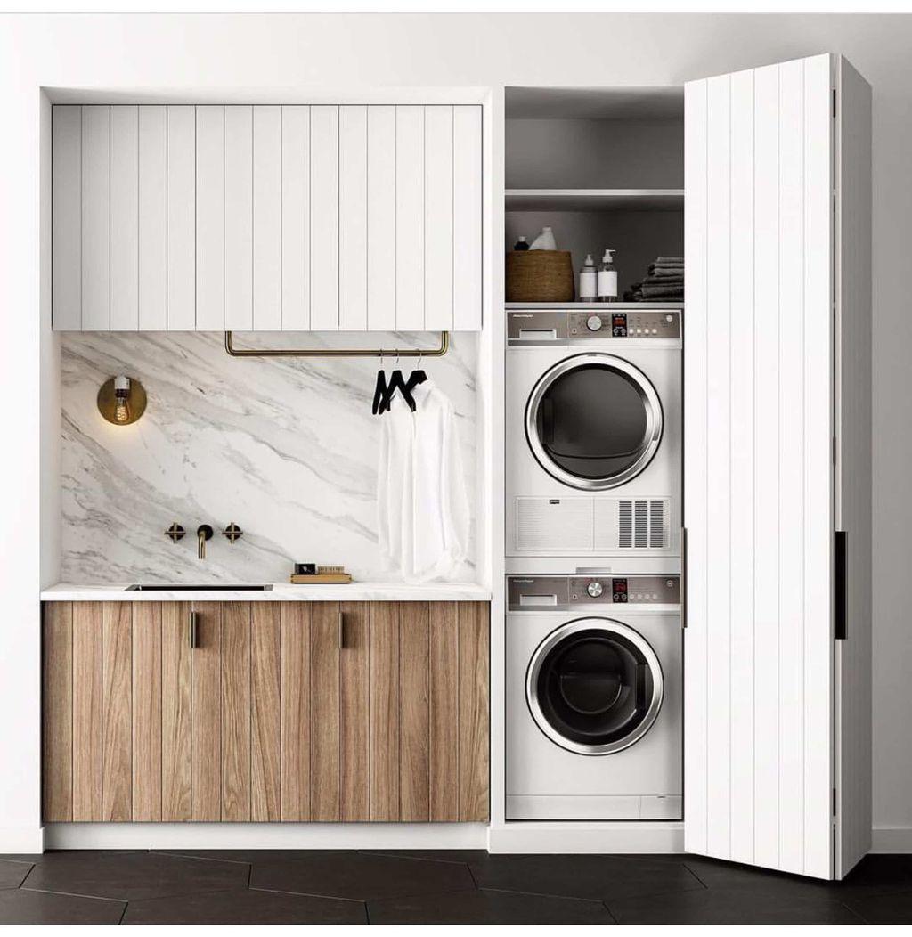 Fabulous Scandinavian Laundry Room Design Ideas 01