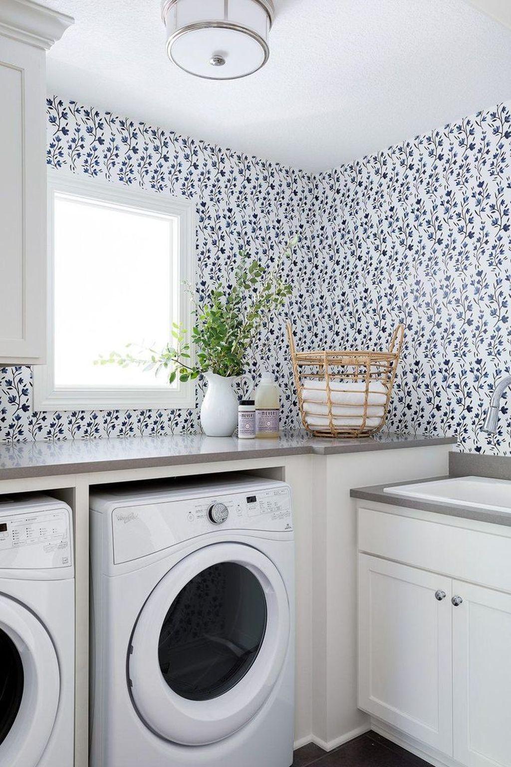 Fabulous Scandinavian Laundry Room Design Ideas 14