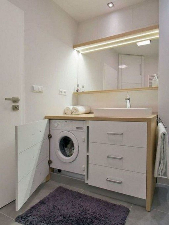 Fabulous Scandinavian Laundry Room Design Ideas 16