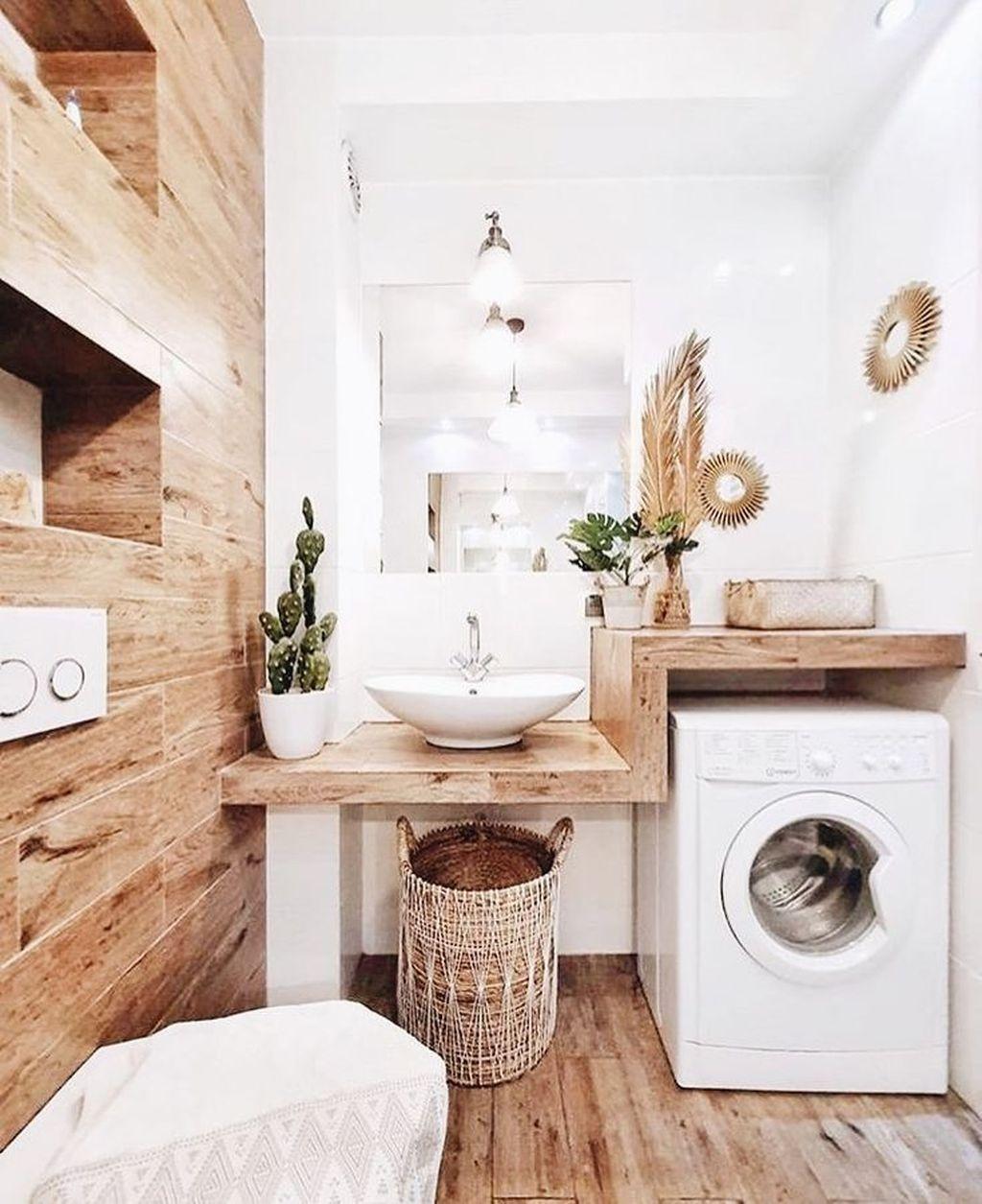 Fabulous Scandinavian Laundry Room Design Ideas 19