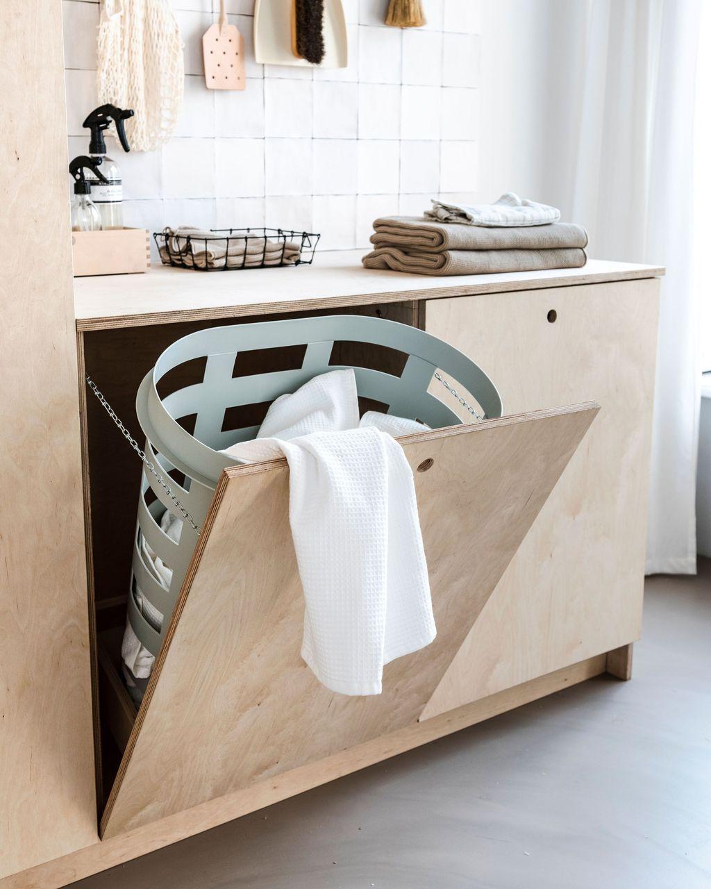 Fabulous Scandinavian Laundry Room Design Ideas 20