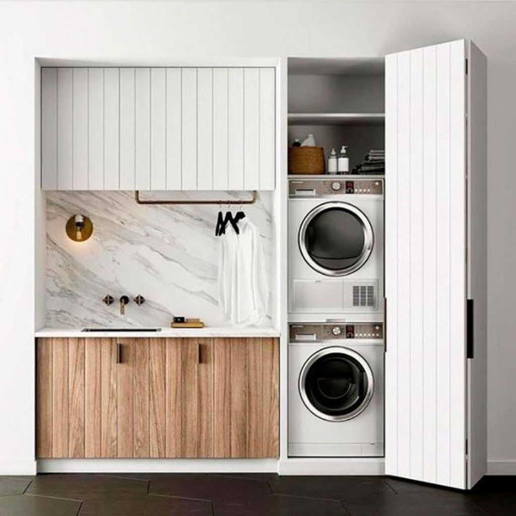 Fabulous Scandinavian Laundry Room Design Ideas 27