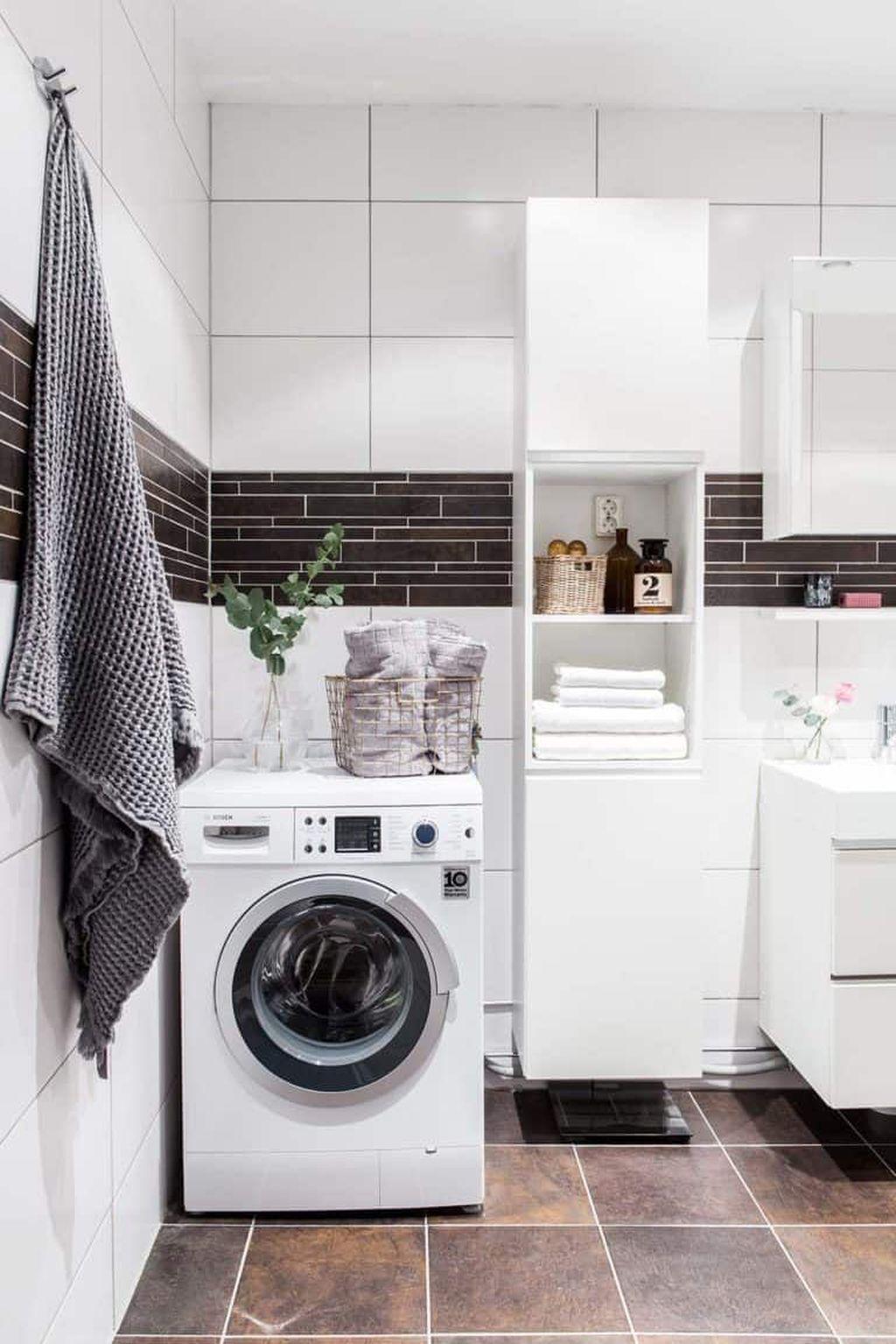 Fabulous Scandinavian Laundry Room Design Ideas 31