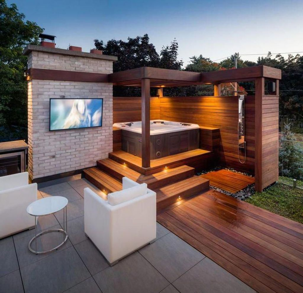 Fascinating Summer Patio Ideas To Beautify Your Garden 27