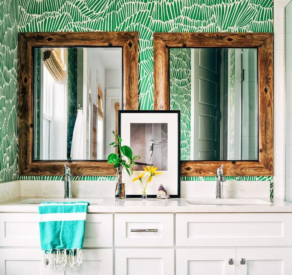 Gorgeous Beach Theme Bathroom Decorating Ideas 25