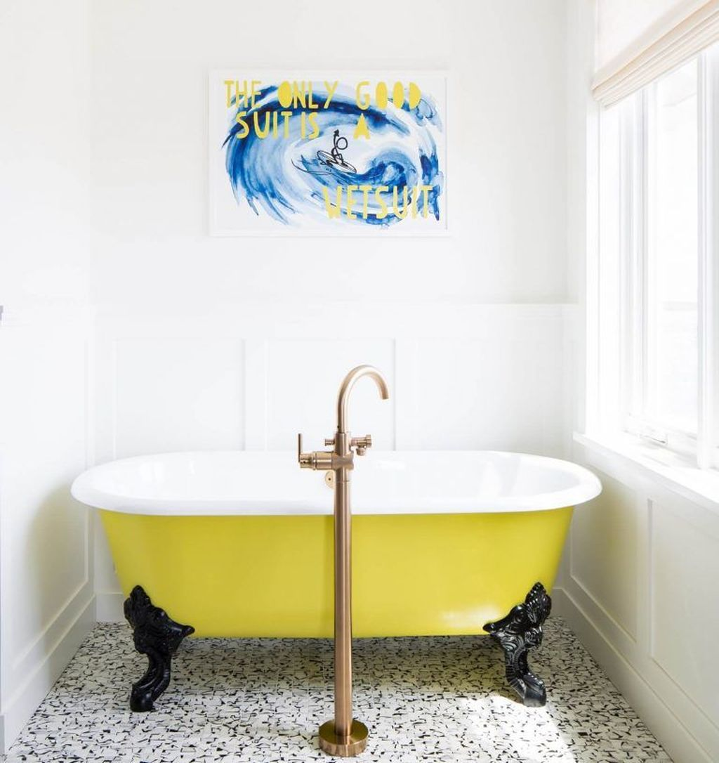 Gorgeous Beach Theme Bathroom Decorating Ideas 30