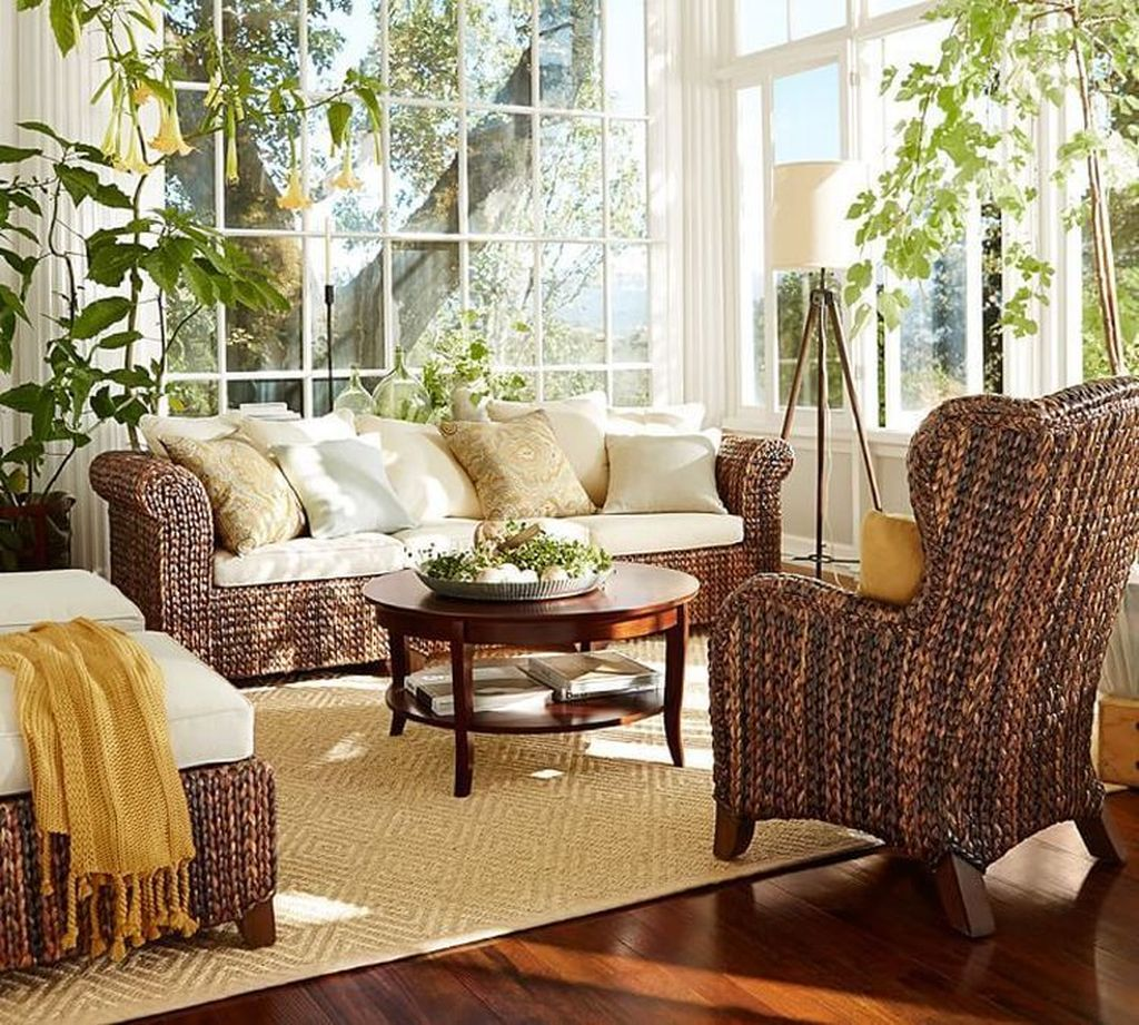 Inspiring Sunroom Furniture Ideas That You Must Have 23