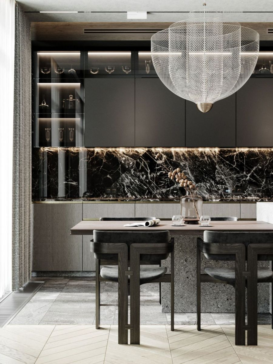 Lovely Luxury Kitchen Design Ideas You Never Seen Before 29