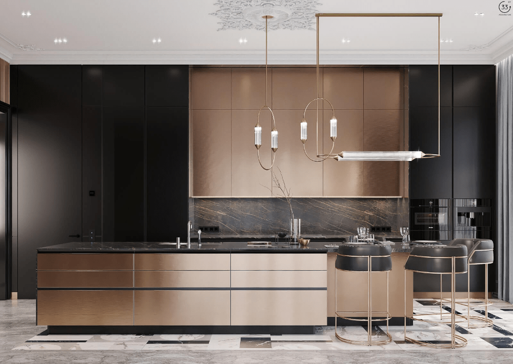 Lovely Luxury Kitchen Design Ideas You Never Seen Before 31