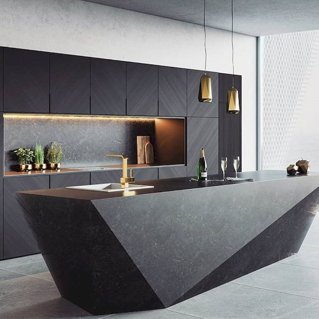 Lovely Luxury Kitchen Design Ideas You Never Seen Before 35