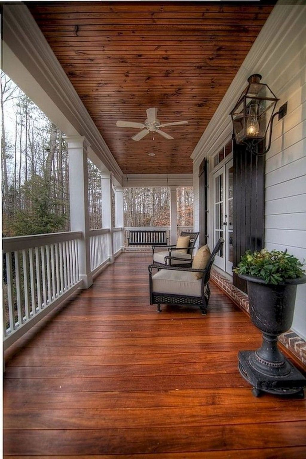 Lovely Rustic Porch Ideas To Beautify Your Home 06