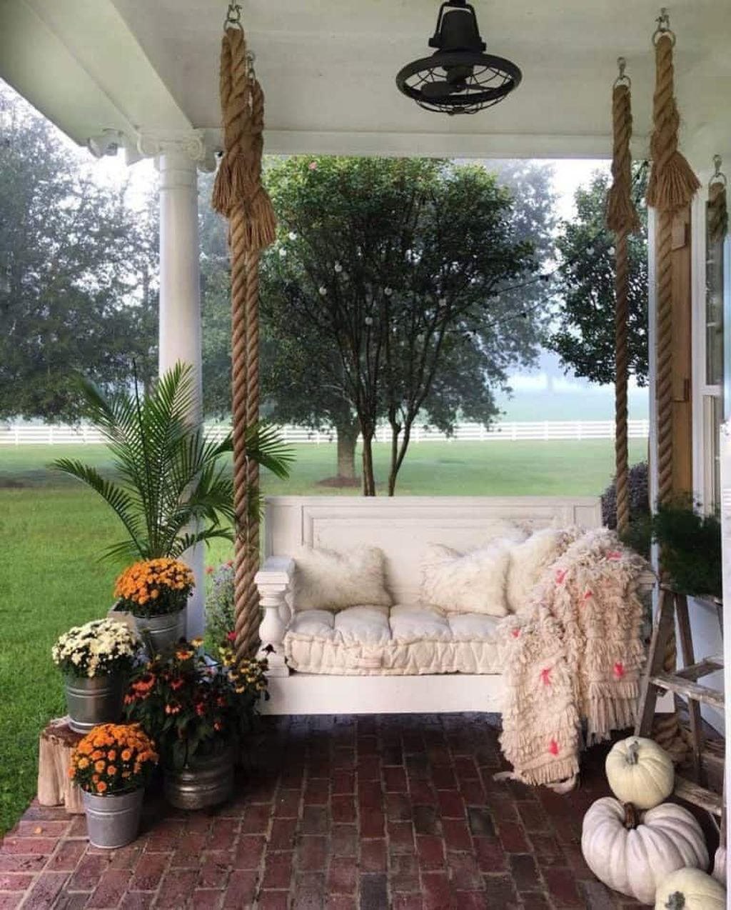 Lovely Rustic Porch Ideas To Beautify Your Home 07