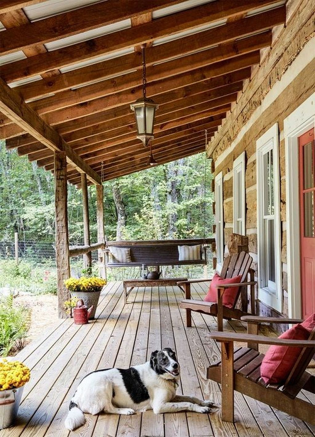 Lovely Rustic Porch Ideas To Beautify Your Home 10