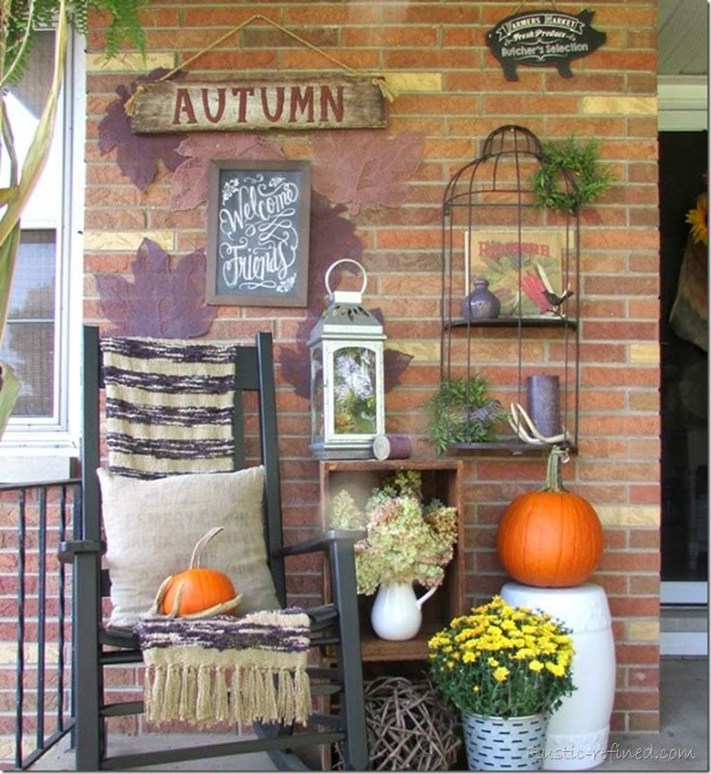 Lovely Rustic Porch Ideas To Beautify Your Home 12