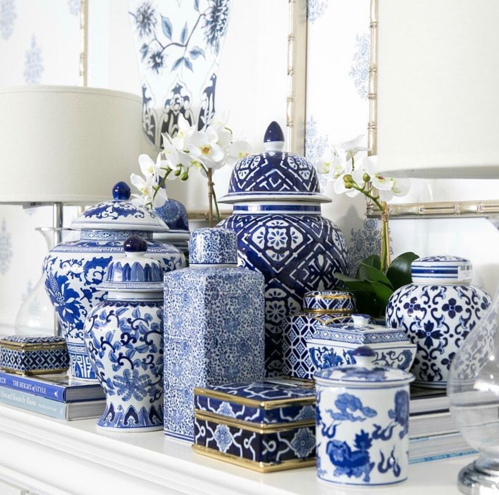 Nice Ginger Jars Decor For Living Room Decoration 16