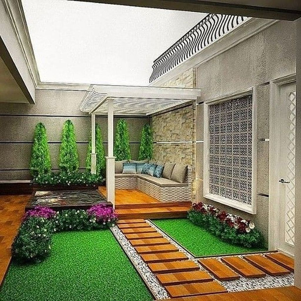 Nice Minimalist Backyard Landscaping Design Ideas You Will Love 13