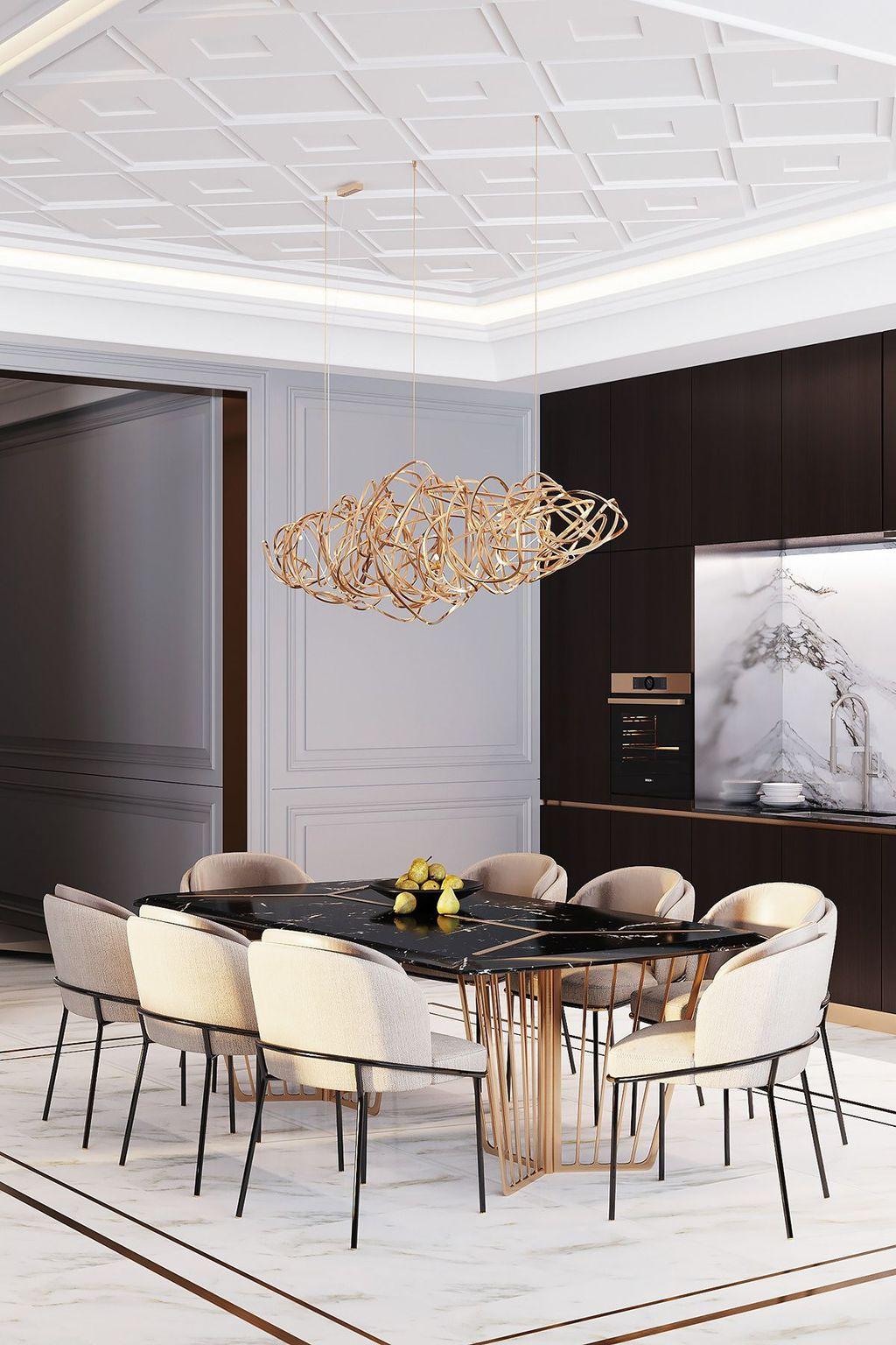 Popular Modern Dining Room Design Ideas You Should Copy 05