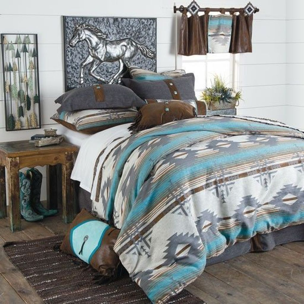 Popular Summer Bedding Ideas To Beautify Your Bedroom 18