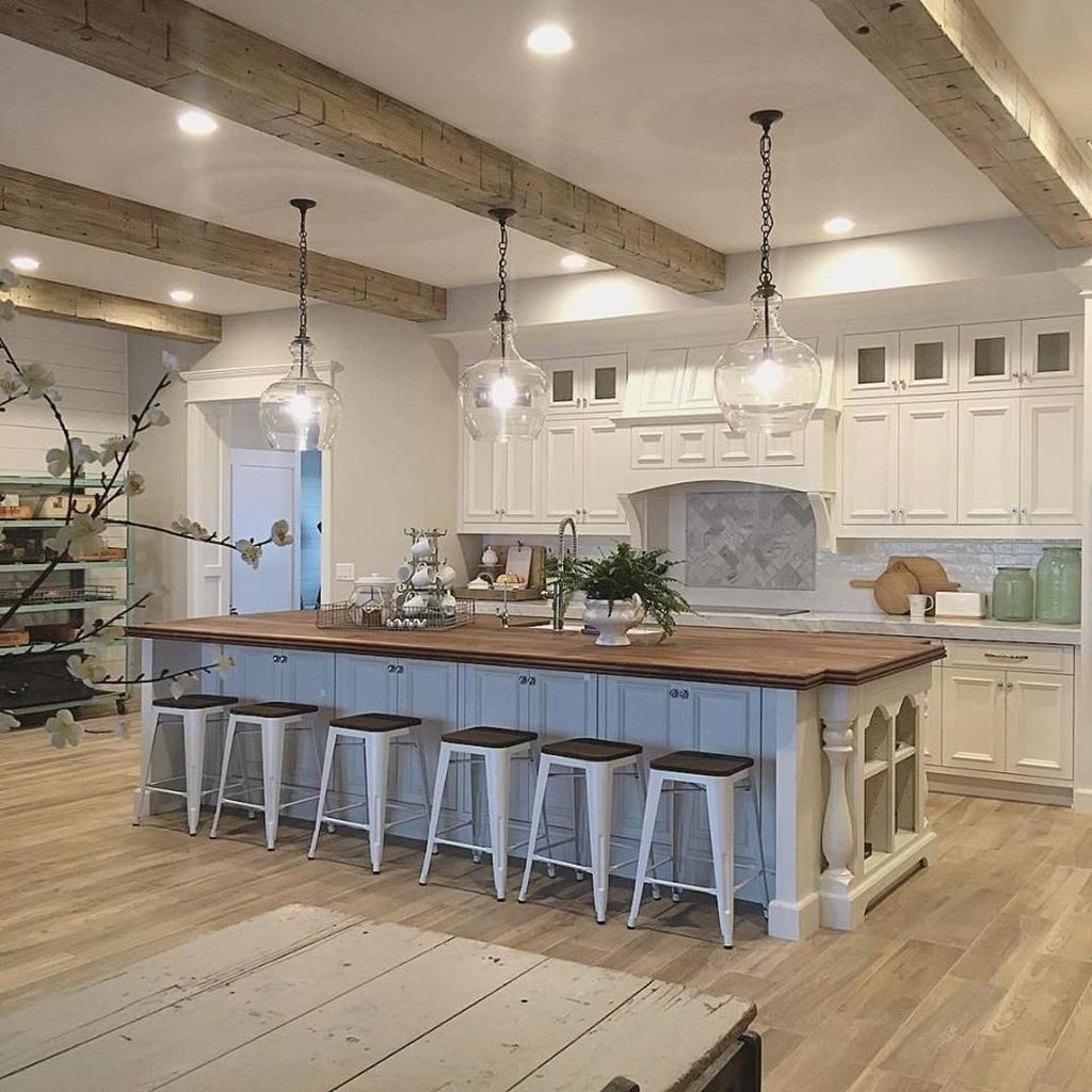 The Best Modern Farmhouse Kitchen Design Ideas 03