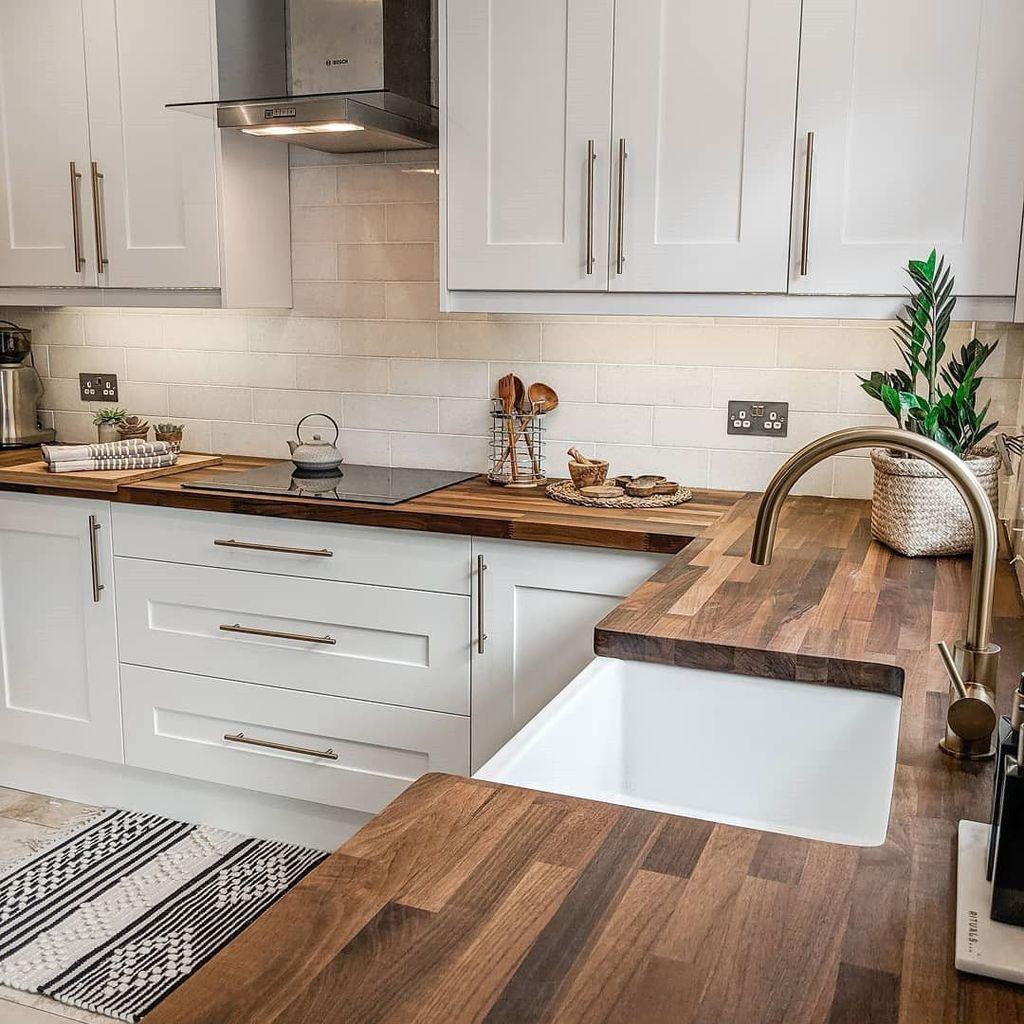 The Best Modern Farmhouse Kitchen Design Ideas 23