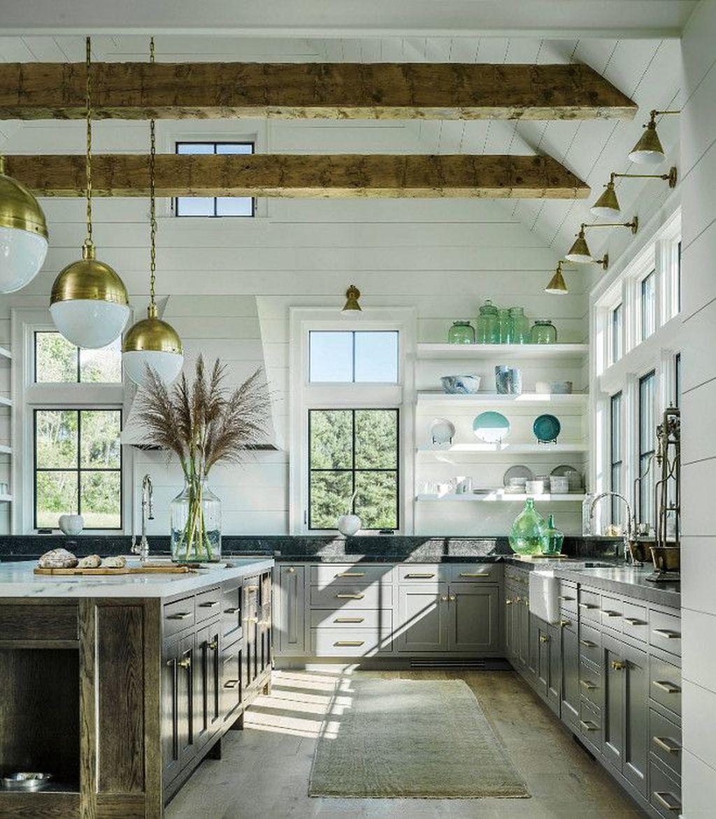 The Best Modern Farmhouse Kitchen Design Ideas 30