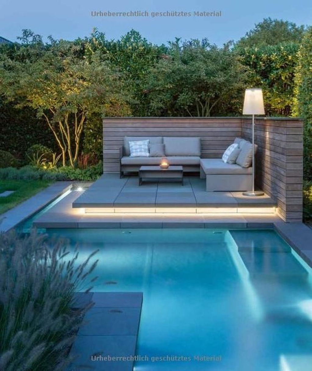 The Best Natural Small Pools Design Ideas You Will Love 24