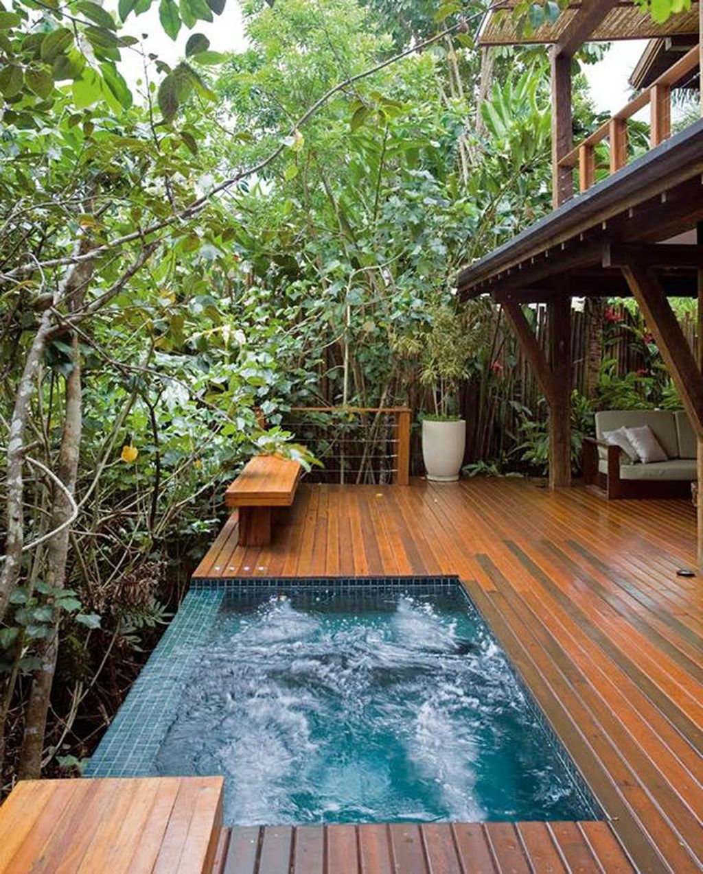 The Best Natural Small Pools Design Ideas You Will Love 25