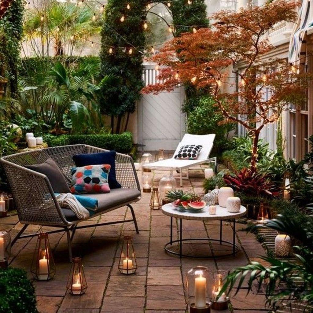 Trending Patio Garden Design Ideas Best For Summertime 24