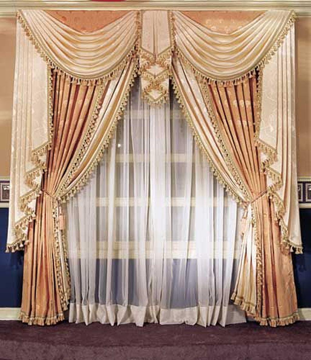 Wonderful Elegant Curtains Ideas For Living Room Decor 01