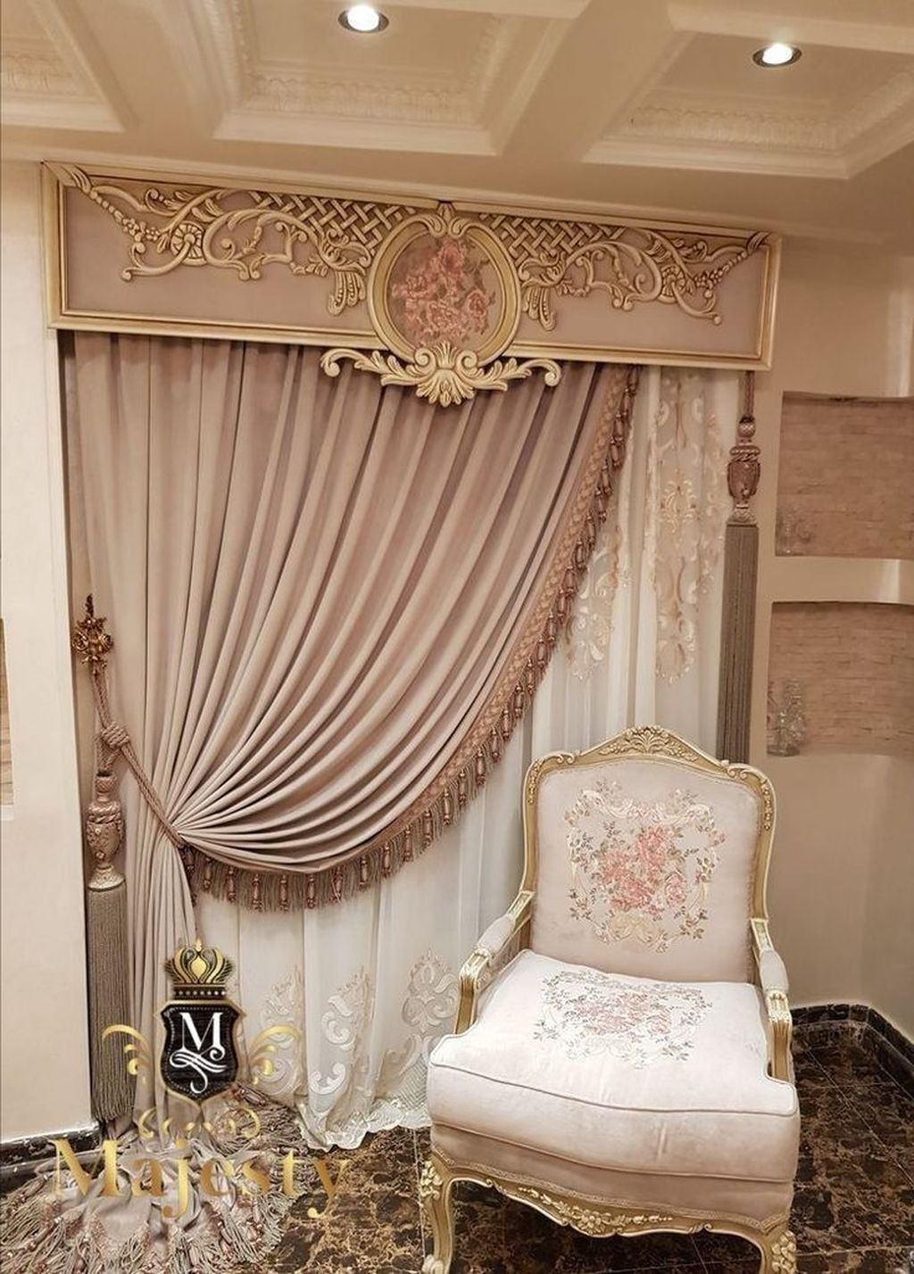 Wonderful Elegant Curtains Ideas For Living Room Decor 27