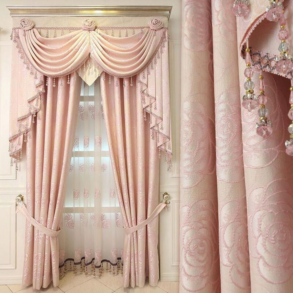 Wonderful Elegant Curtains Ideas For Living Room Decor 30