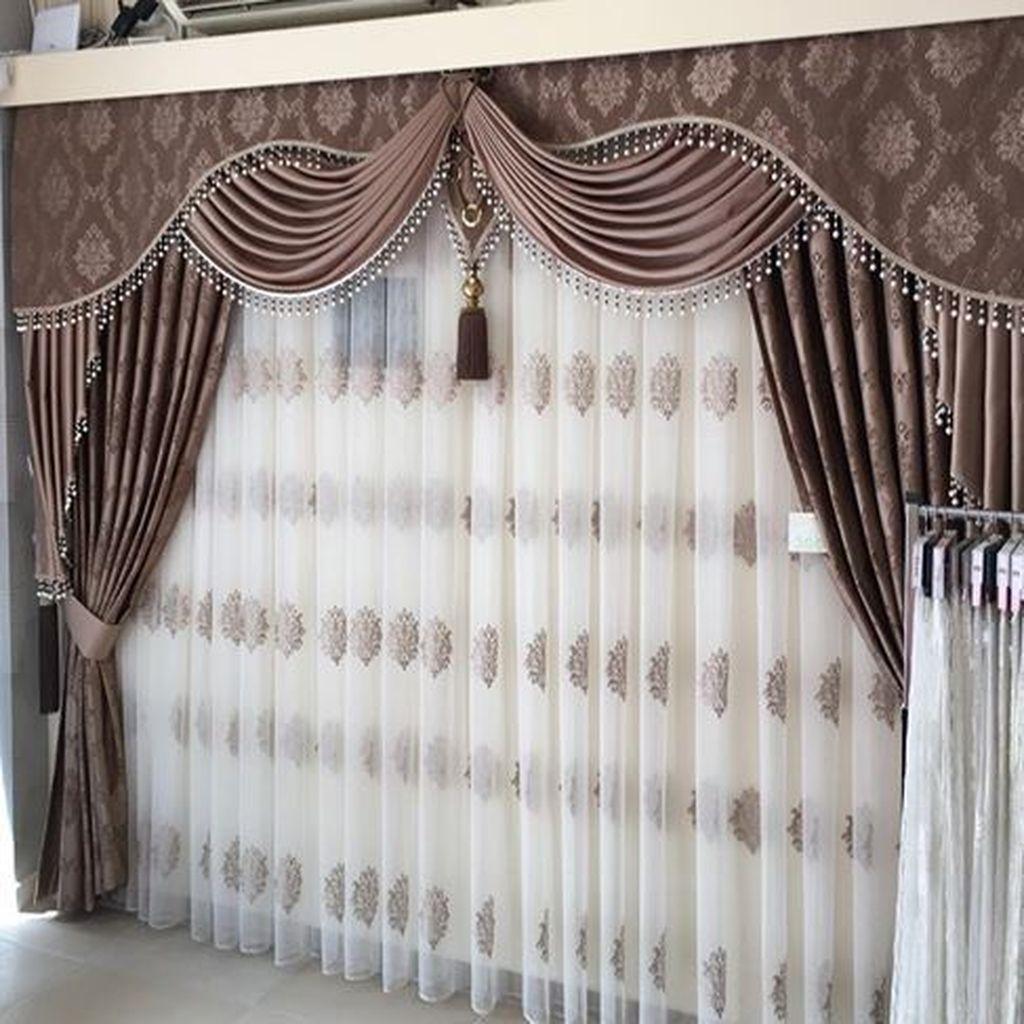 Wonderful Elegant Curtains Ideas For Living Room Decor 31